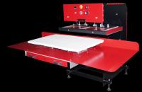 AirPress Slide, pneumatische Großformatpresse, Plattengröße 900x500mm