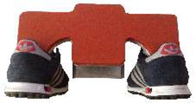 Arbeitsplatte für Schuhe inkl. Silikon- & Schonbezug