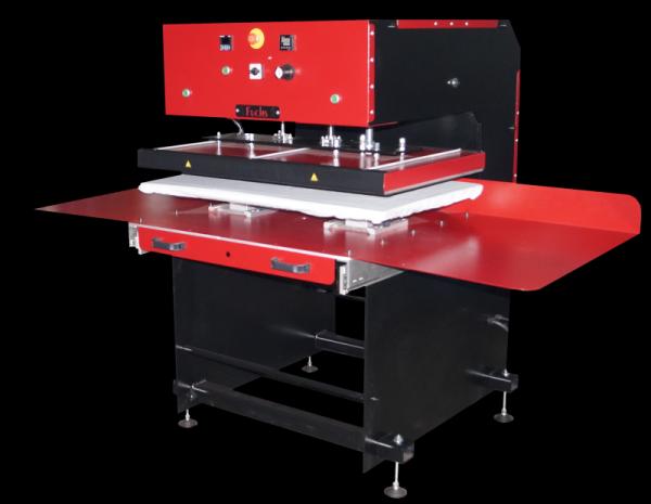 AirPress Slide, pneumatische Großformatpresse: Plattengrößs 1000x600mm