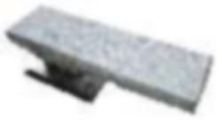 Arbeitsplatte EasyPress für Ärmel inkl. Silikon- & Schonbezug 350x100mm