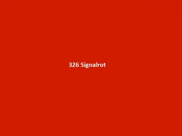 ORACAL® 951 Premium Cast, 326 Signalrot