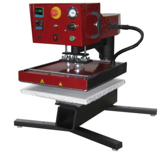 Air-Swing 1000, Pneumatische Schwenkpresse, Plattengrößs 500x400mm