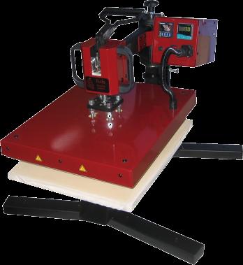 Swing-100, manuelle Schwenkpresse ,Plattengröße 400x500mm