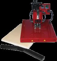 Swing-100, manuelle Schwenkpresse ,Plattengröße 350x450mm