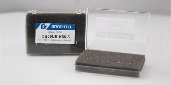 0,9mm Stahlmesser 60° / CB09UB-K60-5